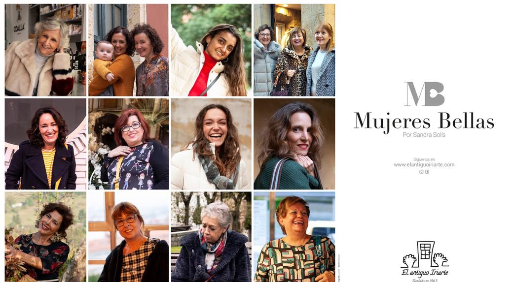Cartel de Mujeres Bellas
