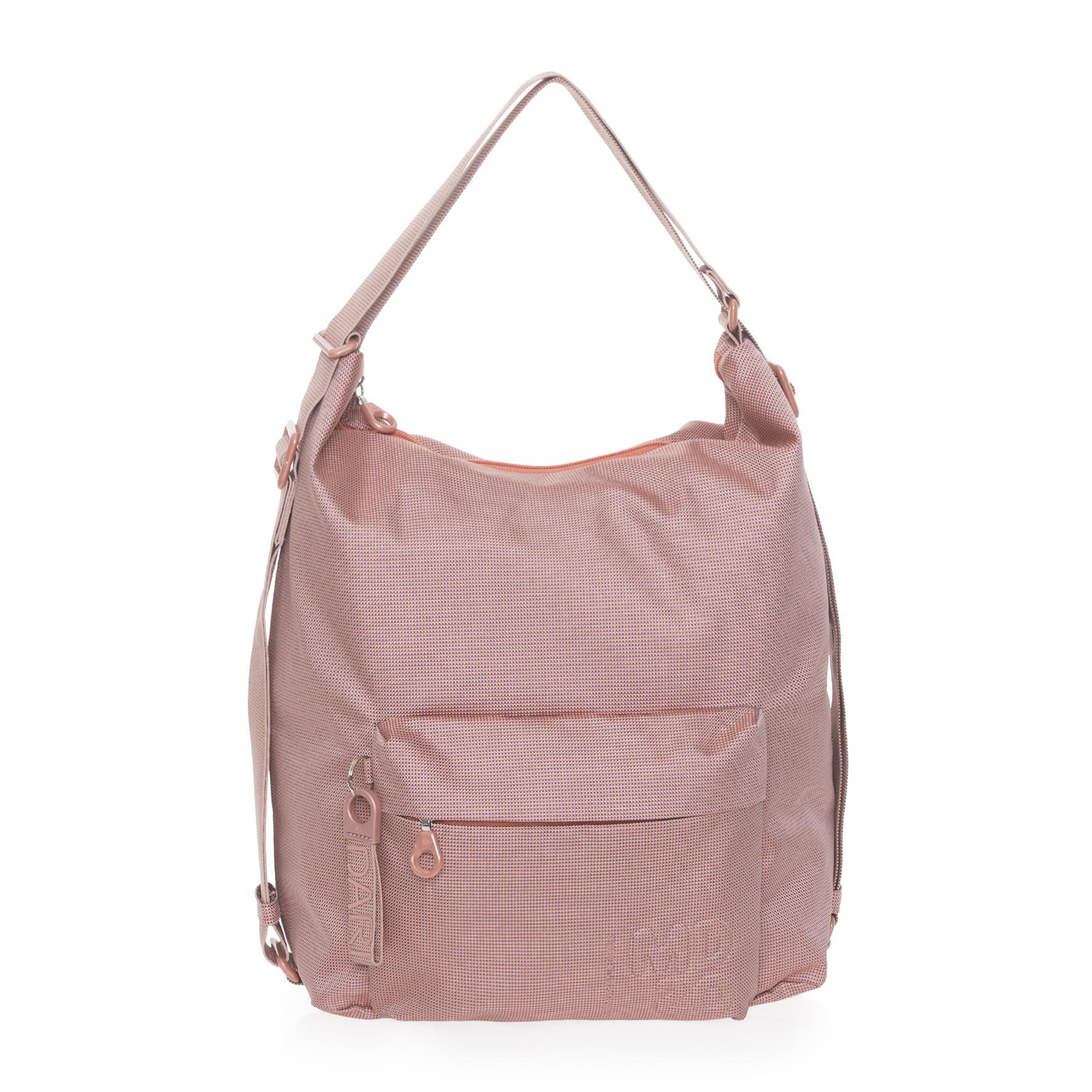 QMT09 bolso mochila rosa