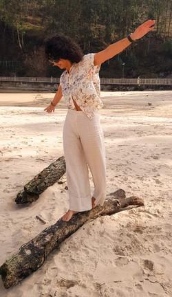 Pantalón Lucile y camisa Nanda