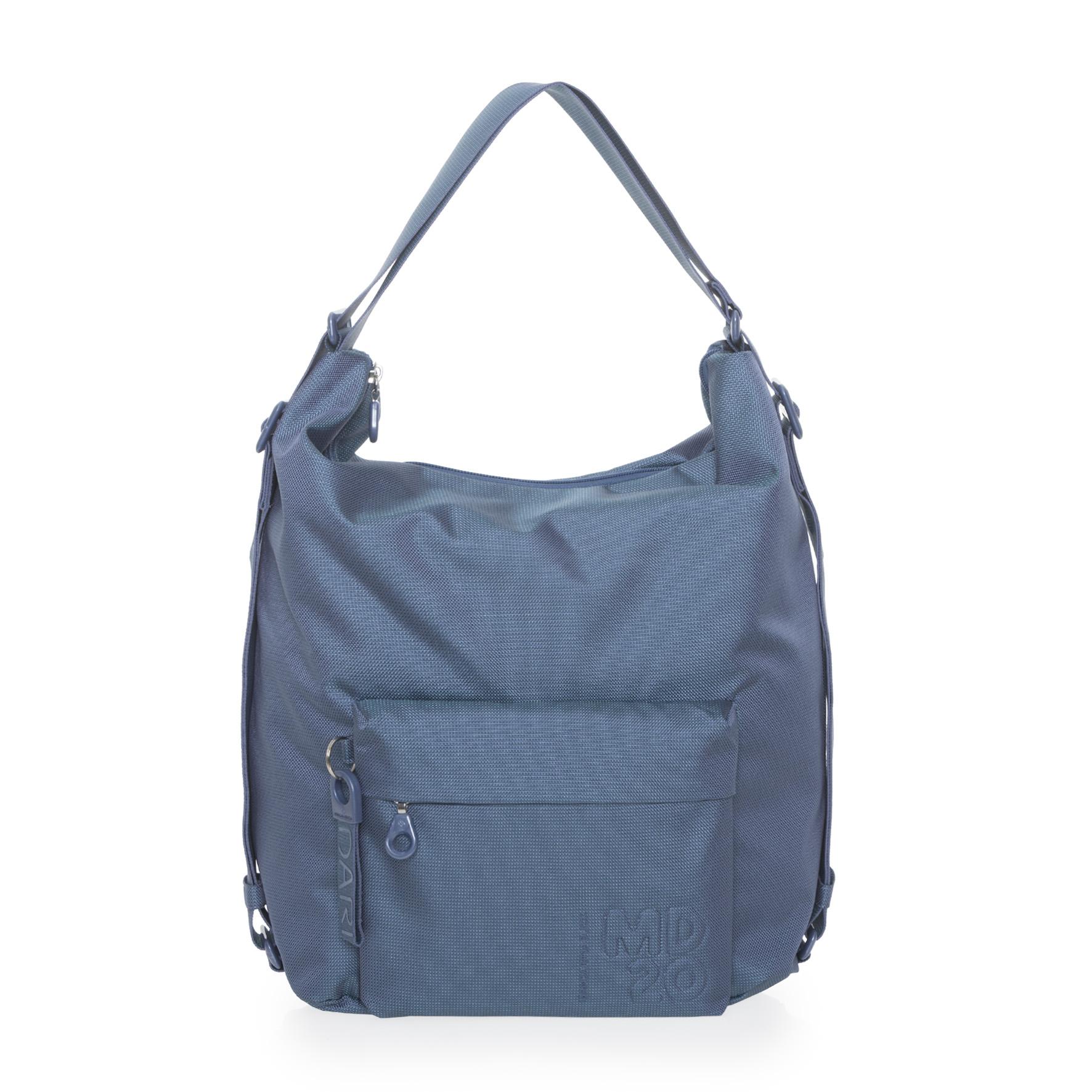 QMT09 bolso mochila azul