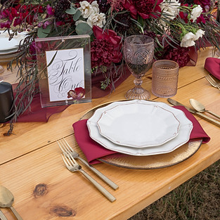 Willow Pond Styled shoot