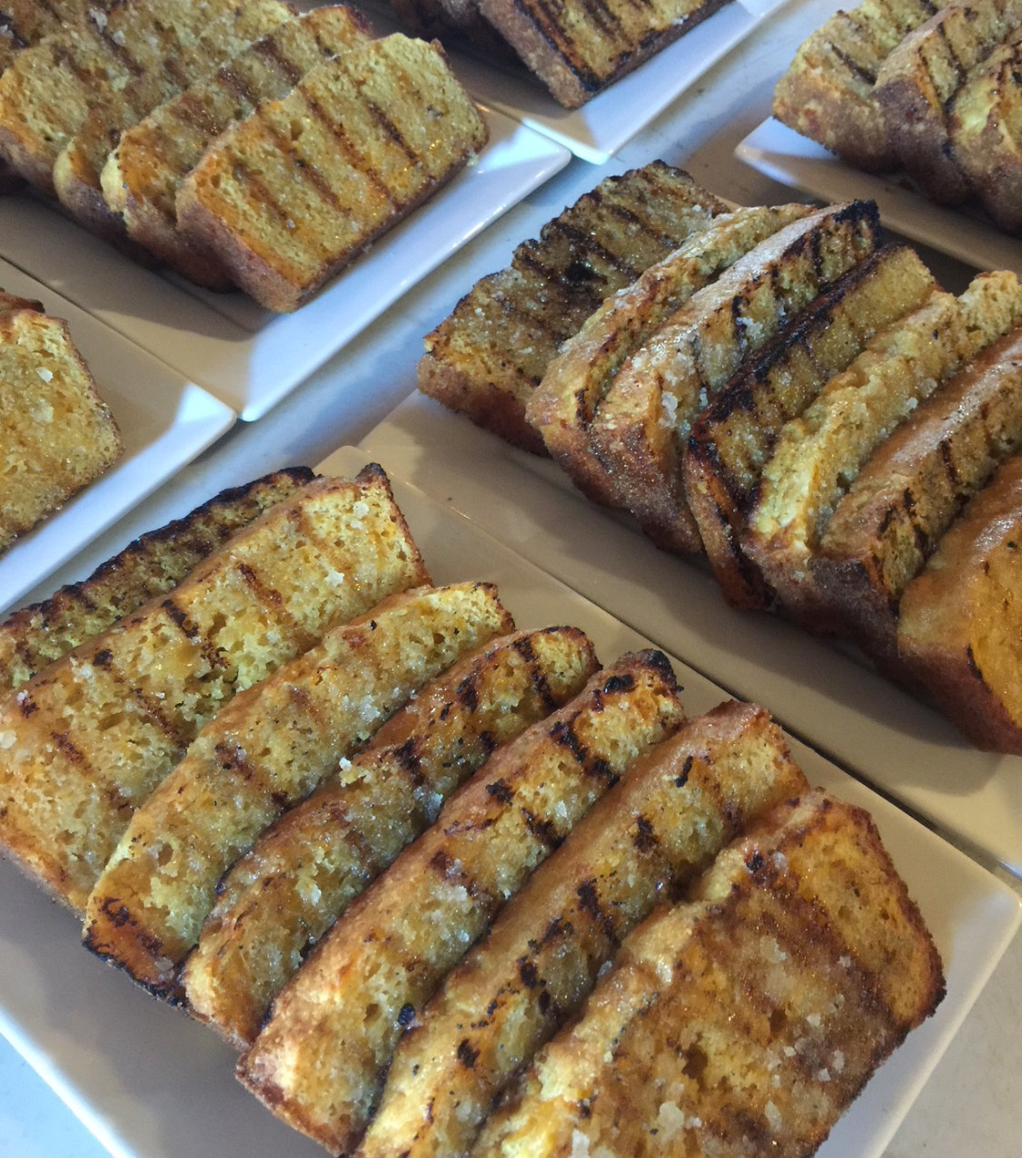 Grilled Cornbread