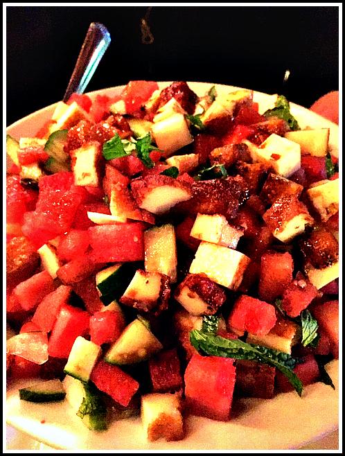 Halloumi-Watermelon-Salad