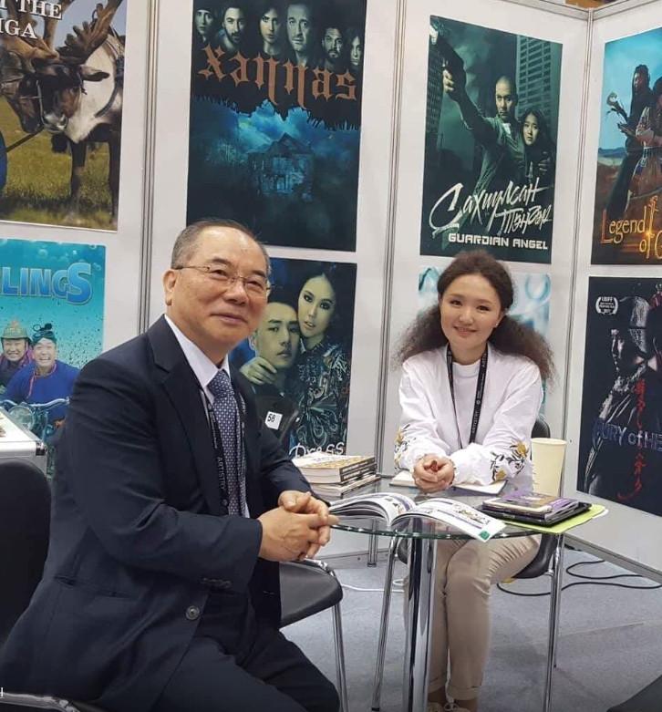 몽골 최대배급사와 업무제휴