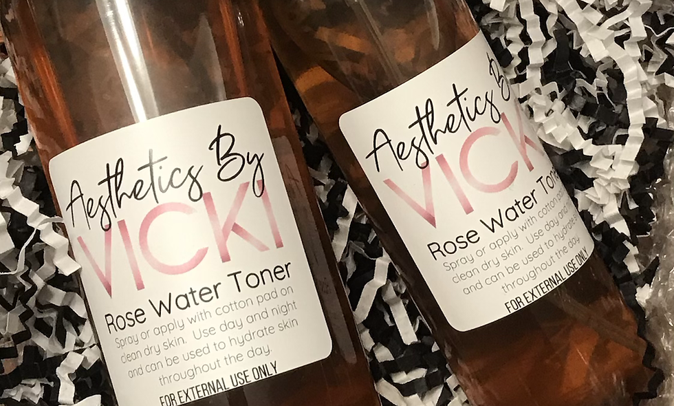 Rose Water Toner 8oz