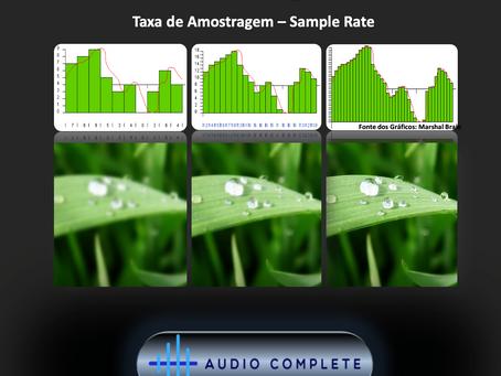 O que é Sample Rate ou Taxa de Amostragem?