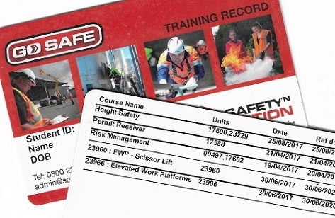 Safety 'n Action Cards