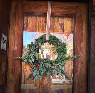 Winter Herbal Wreath