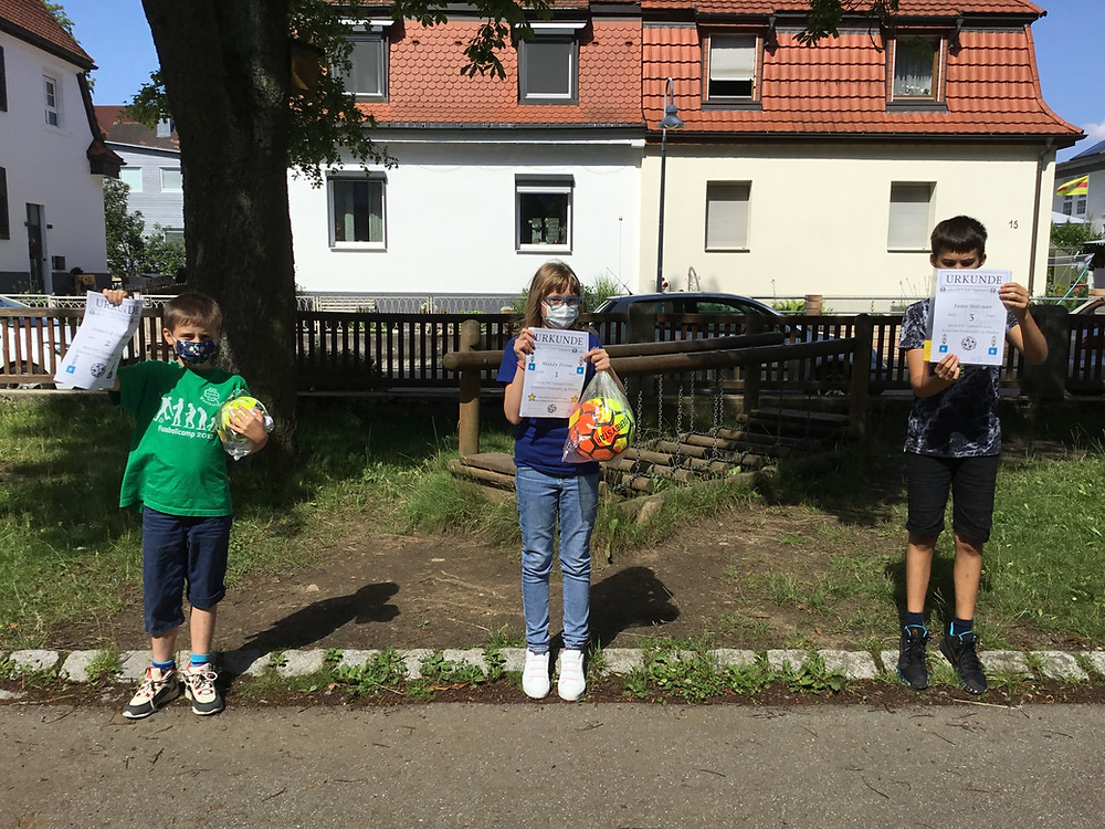 2. Platz: Domenik Hunger 1. Platz: Mandy Friese 3. Platz: Samy Störmer