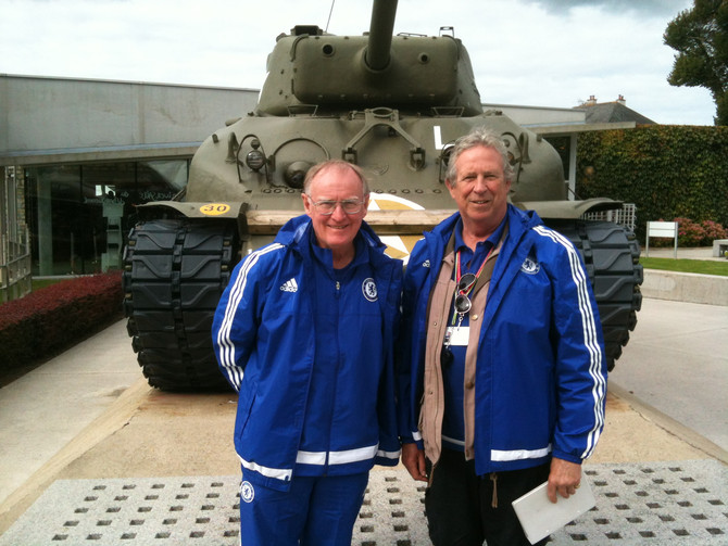Chelsea Football Club youth team, trip to Normandy
