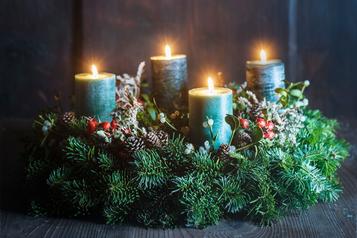 Table Wreath