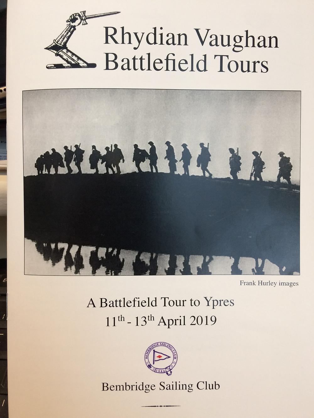 Rhydian Vaughan Battlefield Tours - Trip itinerary