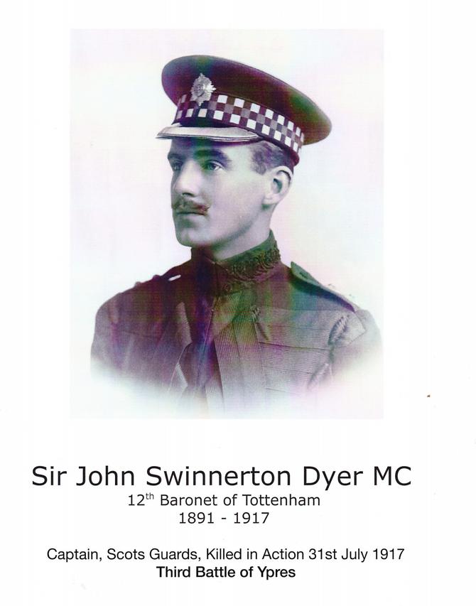 Captain Sir John Swinnerton Dyer MC