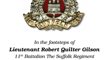 In the footsteps of Lieutenant Robert Quilter Gilson, 11th Battalion the Suffolk Regiment