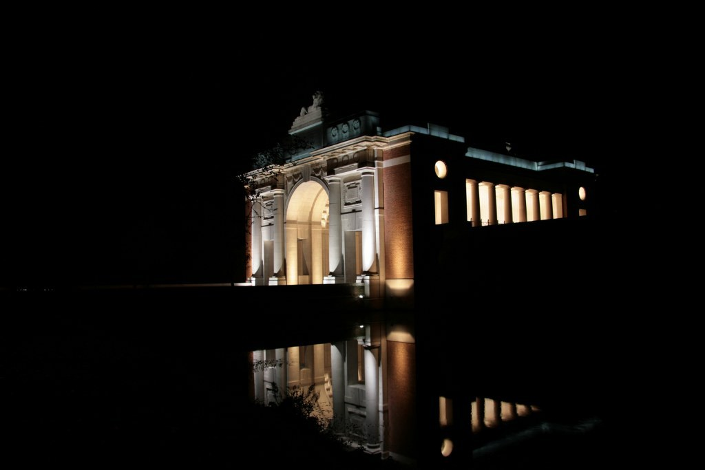 The Menin gate, Ypres.