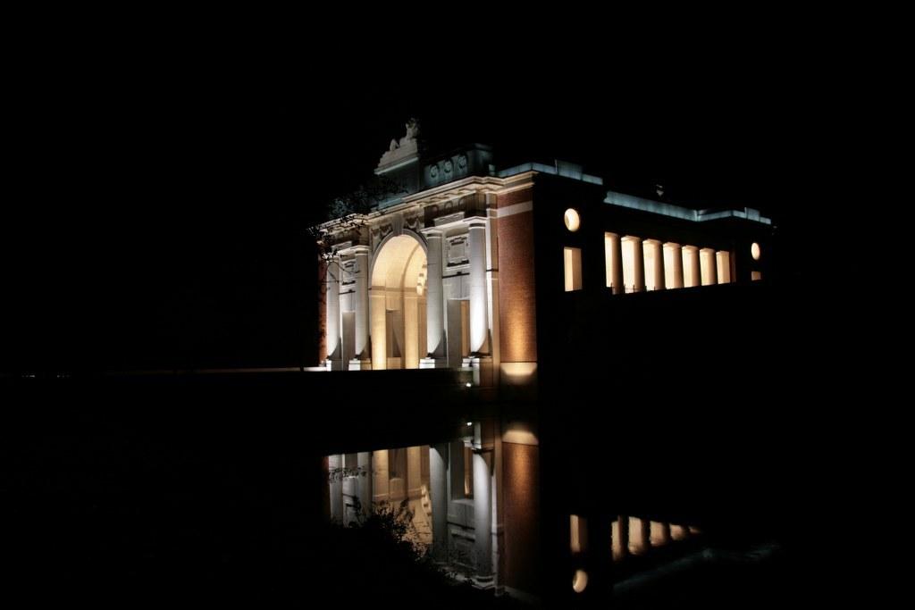 The Menin gate, Ypres.