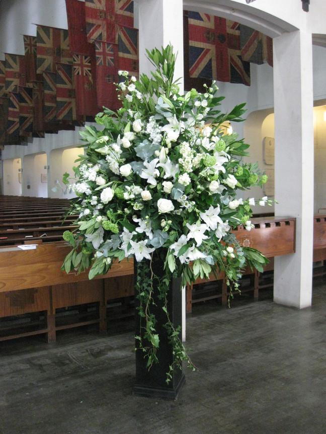 Guards chapel  - Wedding pedestal
