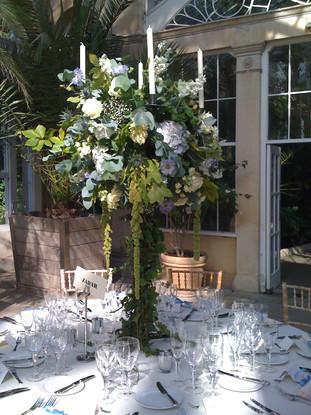 Sion Park Wedding - Table arrangement
