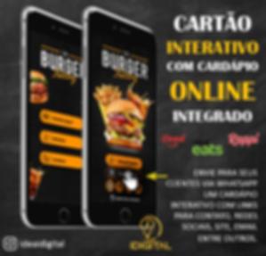 Cardápio Online