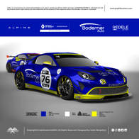 Renault Alpine GT4 #76