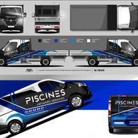 Renault Master et Trafic Piscines Paysag