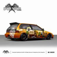 Honda Civic MK4 EF9