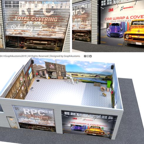 Portes de garage RPC