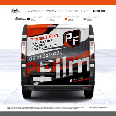 Nissan NV300 - Protect-Film dpt.69