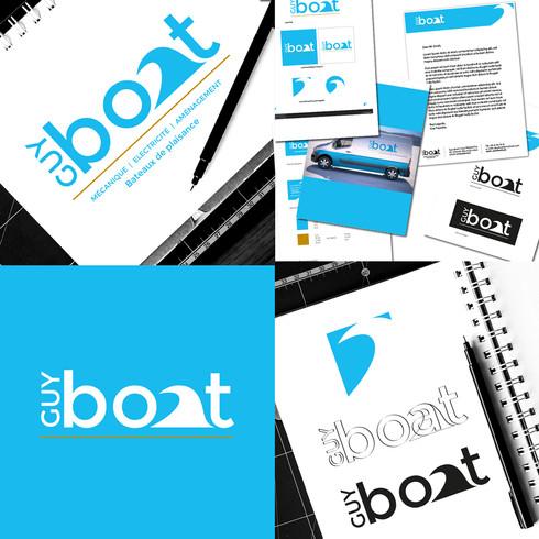 Logo Guy Boat