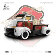 Chevy Coe pick-up 1951