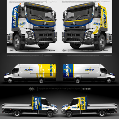 Volvo FMX et Iveco Daily | Mabo TP