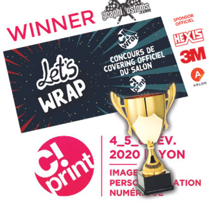 Winner C!Wrap 2020 salon C!Print