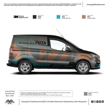 Ford Courier - La maison de la pizza