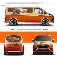 Ford Transit Custom Sport | Winnie Menui