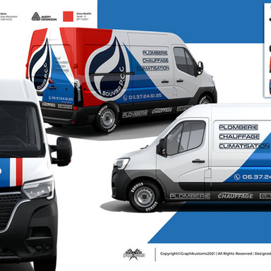 Renault Master | Bouvier Plomberie