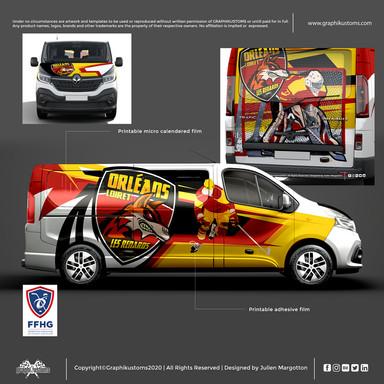 Renault Trafic SpaceClass / Les Renards d'Orléans