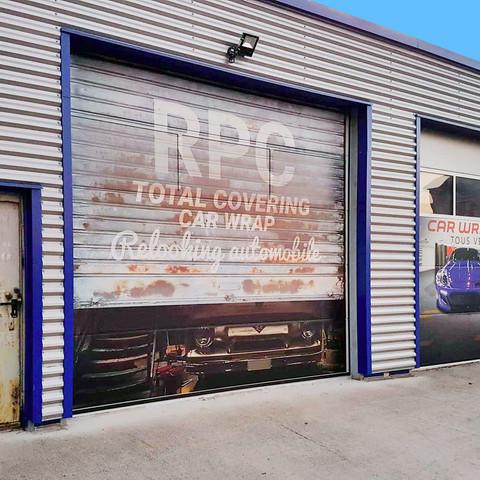 Garage RPC textures echelle 1/1