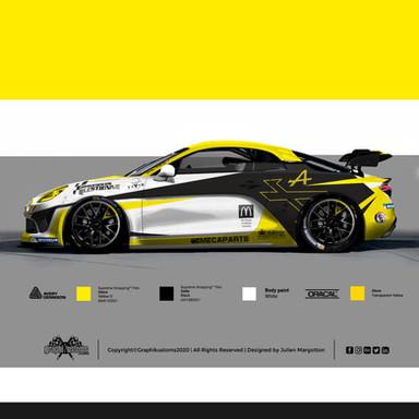 Alpine Renault A110 GT4