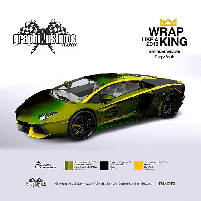 Lamborghini Aventador RSR RSV