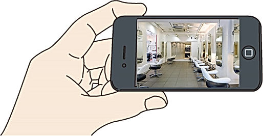 美容室,美容院,理容室,防犯カメラ,監視カメラ