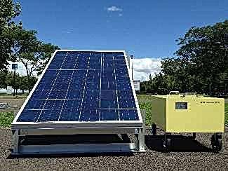 蓄電池,ソーラー蓄電池,工事現場
