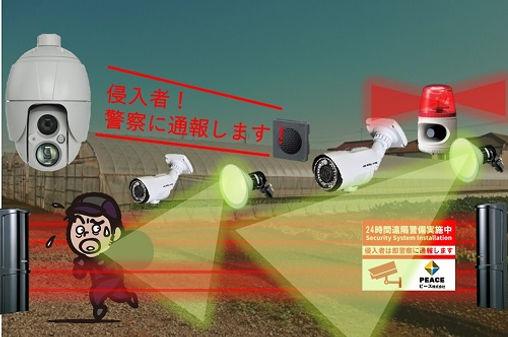 農家,農場,畑,農地,防犯カメラ,セキュリティシステム,防犯対策,農業機械,ホイールローダー