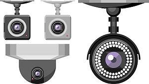 防犯カメラ,監視カメラ,違い