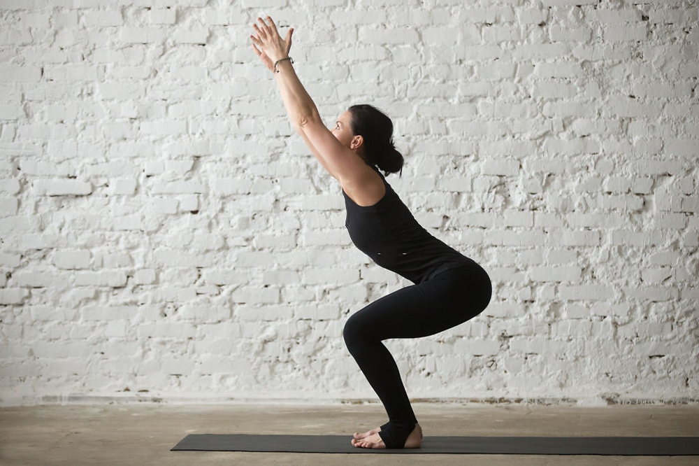 Kursiasana (Chair pose)