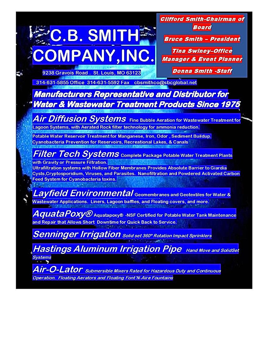 C. B. Smith Company Line List