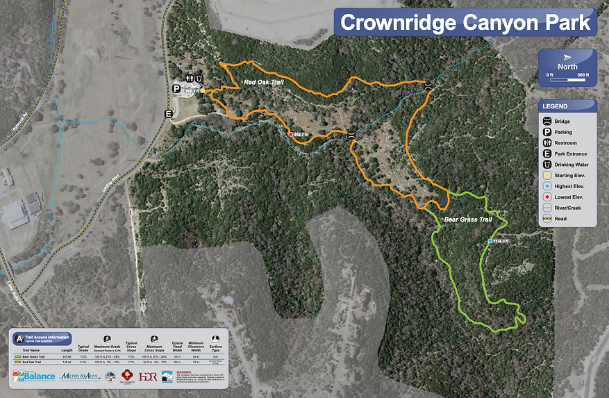 Crownridge Canyon Map.png