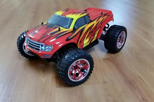 Carro elétrico 1:10 HSP Monster Truck vermelho Normal ou Brushless