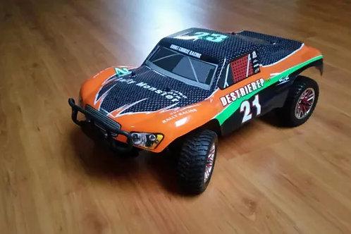 Carro elétrico 1:10 HSP Rally Monster Laranja Normal ou Brushless