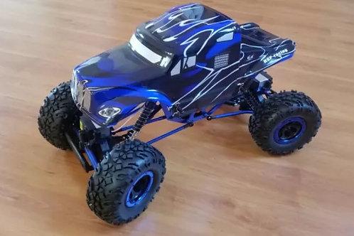 Carro elétrico 1:10 HSP Rock Crawler Pangolin Azul