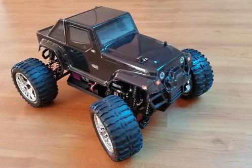 Carro elétrico 1:10 HSP Jipe Rubicon Monster HSP Normal ou Brushless